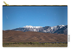 Colorado Great Sand Dunes With Falling Star Carry-all Pouch by James BO Insogna