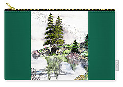 Colorado Lake Reflections Carry-all Pouch