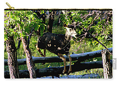 Colorado Mule Deer Jumping A Fense Carry-all Pouch