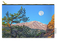 Colorado Rocky Mountain High, Just A Breath Away From Heaven Carry-all Pouch