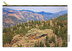 Carry-all Pouch featuring the photograph Colorado Rocky Mountains by Sheila Brown