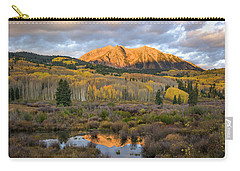 Carry-all Pouch featuring the photograph Colorado Sunrise by Phyllis Peterson
