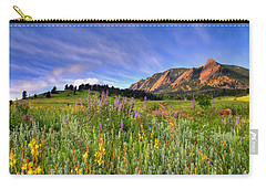 Colorado Wildflowers Carry-all Pouch