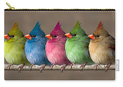 Colored Chicks Carry-all Pouch