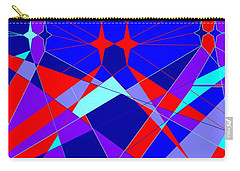 Colorful 1 Carry-all Pouch by Linda Velasquez