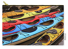 Colorful Alaska Kayaks Carry-all Pouch