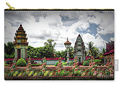 Colorful Architecture Siem Reap Cambodia  Carry-all Pouch