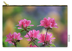 Colorful Azaleas Montage Carry-all Pouch by Mike Reid