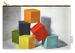 Colorful Blocks Carry-all Pouch