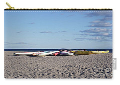 Colorful Boats Ashore Carry-all Pouch