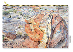 Colorful Boulder At Valley Of Fire Carry-all Pouch