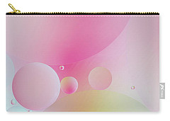 Colorful Bubbles Carry-all Pouch by Elena Nosyreva