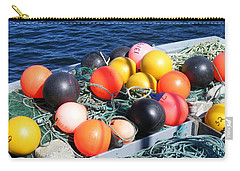 Colorful Buoys Carry-all Pouch by Barbara Griffin