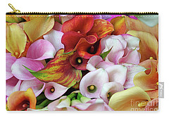 Colorful Calla Lilies Carry-all Pouch