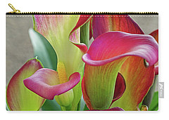 Colorful Calla Lillies Carry-all Pouch