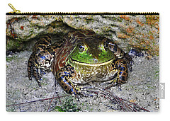 Carry-all Pouch featuring the photograph Colorful Camo by Al Powell Photography USA