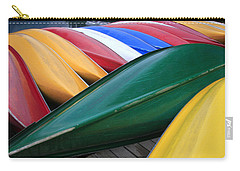 Colorful Canoes Carry-all Pouch