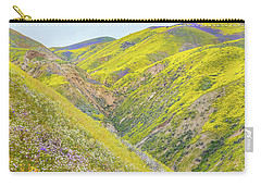 Carry-all Pouch featuring the photograph Colorful Canyon by Marc Crumpler