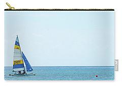 Colorful Catamaran 3 Delray Beach Florida Carry-all Pouch