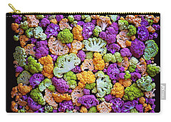 Colorful Cauliflower Mosaic Carry-all Pouch
