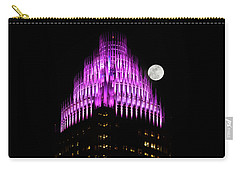 Colorful Charlotte Skyline Carry-all Pouch by Serge Skiba
