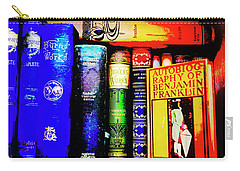 Carry-all Pouch featuring the photograph Colorful Classics by Toni Hopper
