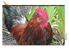 Colorful Cock Carry-all Pouch