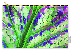 Colorful Coleus Abstract 4 Carry-all Pouch