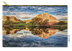 Carry-all Pouch featuring the photograph Colorful Colorado - Panorama by OLena Art Brand