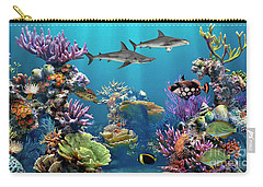 Colorful Coral Reef Carry-all Pouch
