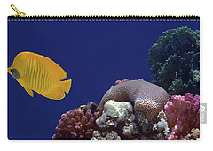 Colorful Coralreef Carry-all Pouch