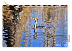 Carry-all Pouch featuring the photograph Colorful Cormorant by Al Powell Photography USA