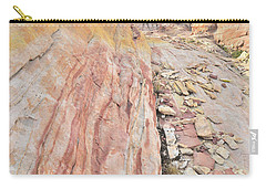 Colorful Crest In Valley Of Fire Carry-all Pouch