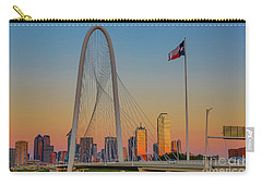 Colorful Dallas Sunset Carry-all Pouch