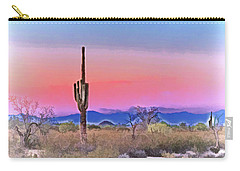 Colorful Desert Carry-all Pouch