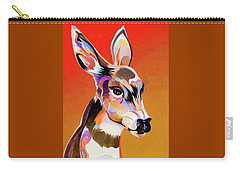 Colorful Doe Carry-all Pouch