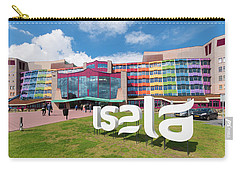 Carry-all Pouch featuring the photograph Colorful Dutch Hospital Facade by Hans Engbers