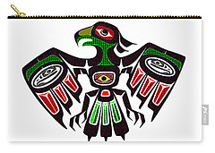 Colorful Eagle Symbol Carry-all Pouch