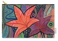 Colorful Fall Carry-all Pouch by Helena Tiainen