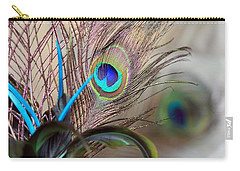 Colorful Feathers Carry-all Pouch