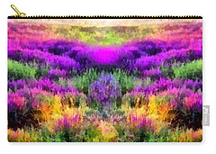 Colorful Field Of A Lavender Carry-all Pouch by Anton Kalinichev