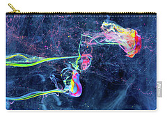 Colorful Flow - Abstract Photography Art Carry-all Pouch