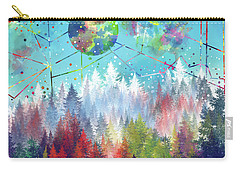 Colorful Forest 4 Carry-all Pouch