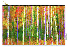 Colorful Forest Abstract Carry-all Pouch