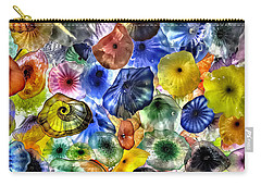 Colorful Glass Ceiling In Bellagio Lobby Carry-all Pouch