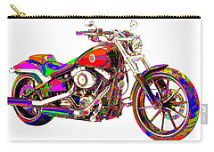 Colorful Harley-davidson Breakout Carry-all Pouch