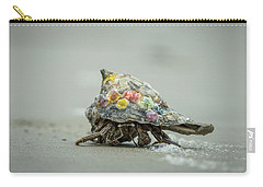 Colorful Hermit Crab Carry-all Pouch