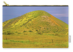 Carry-all Pouch featuring the photograph Colorful Hill by Marc Crumpler