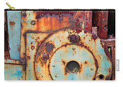 Colorful Industrial Plates Carry-all Pouch