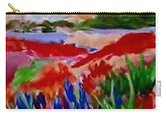 Carry-all Pouch featuring the painting Colorful by Jamie Frier